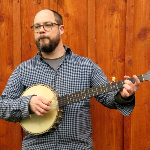Fred Brown - Oldtime Banjo - Music Workshop - Buffalo Music Club