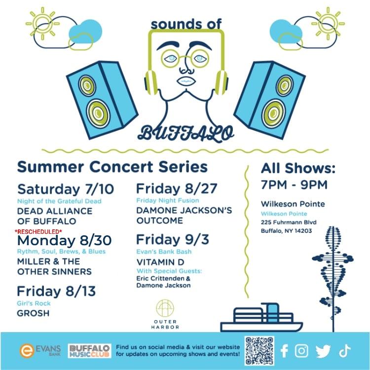 Sounds of Buffalo 2021 - Concert Production - Buffalo Music Club